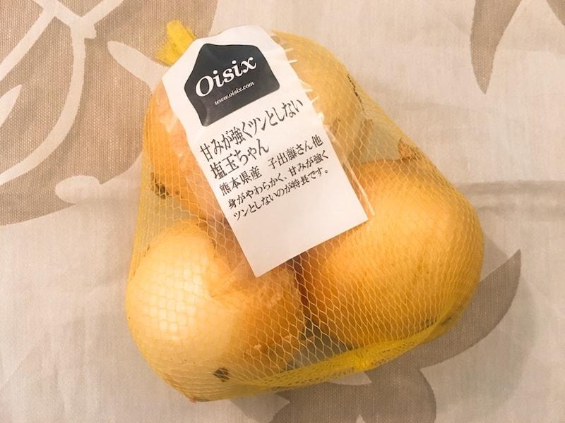 Oisix otameshi 26 塩玉ちゃん