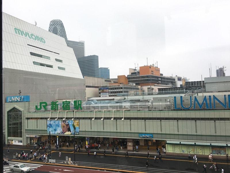Shinjuku busterminal 17 新宿駅