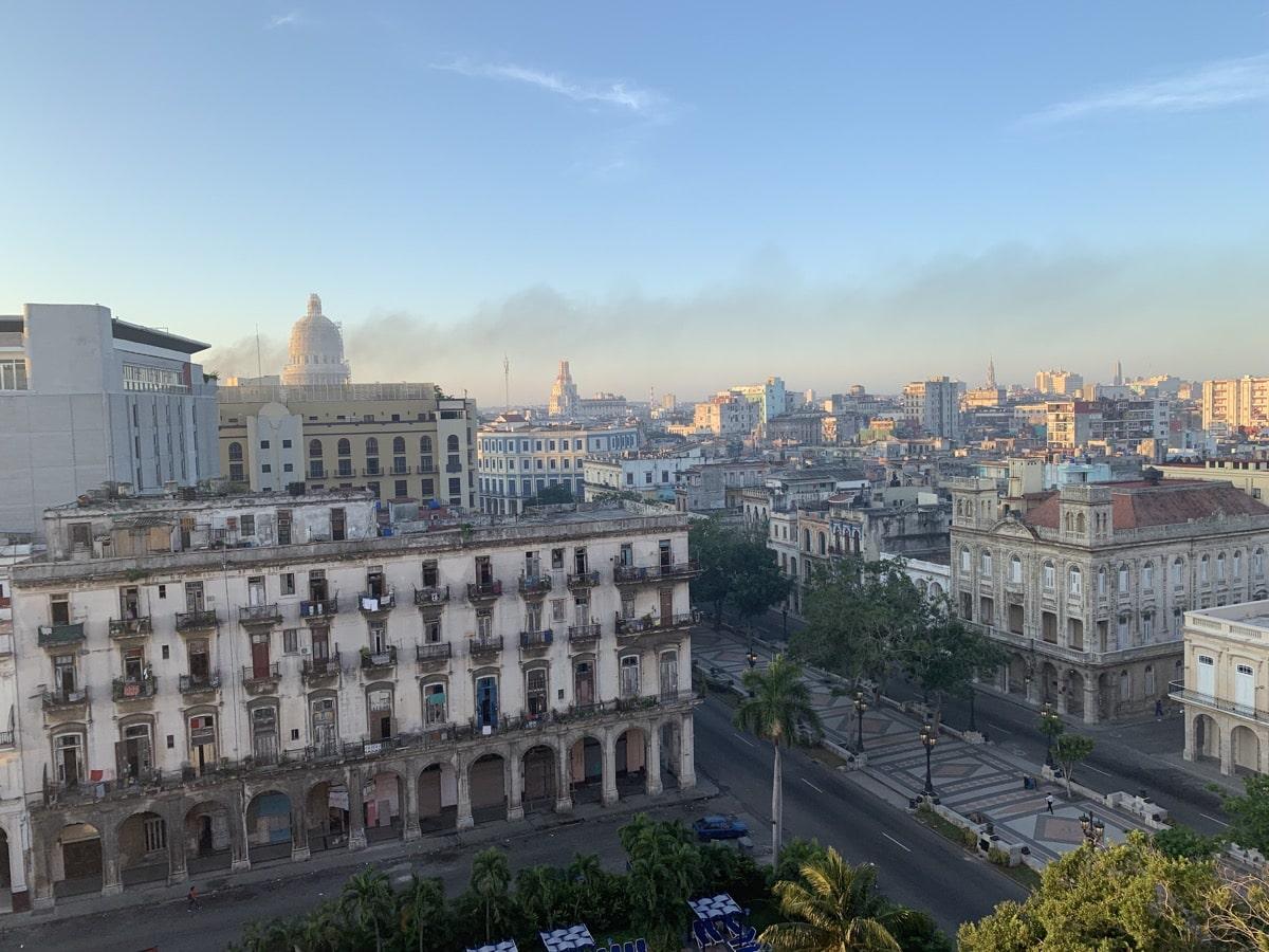 Habana casa 6ホテルからの景色