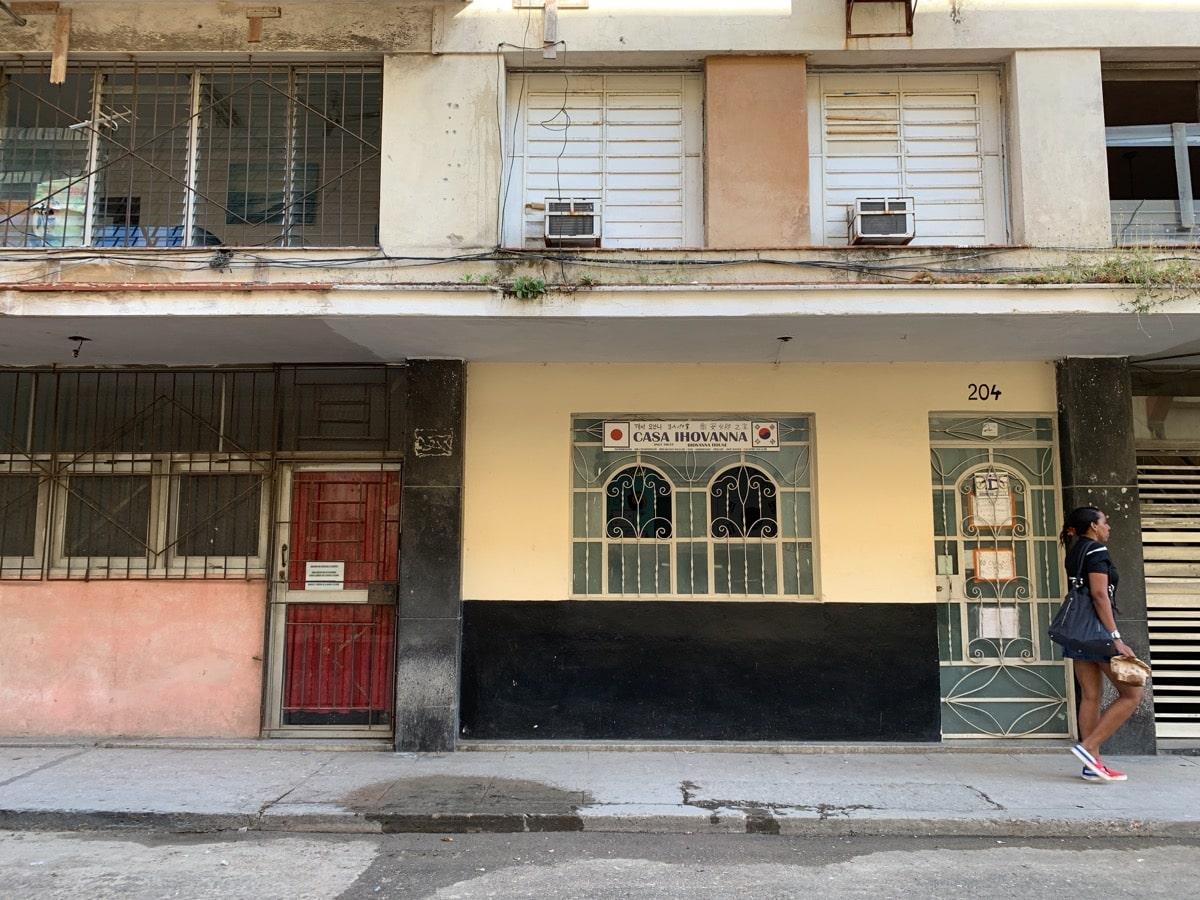 Habana casa 13ヨハンナさんの家