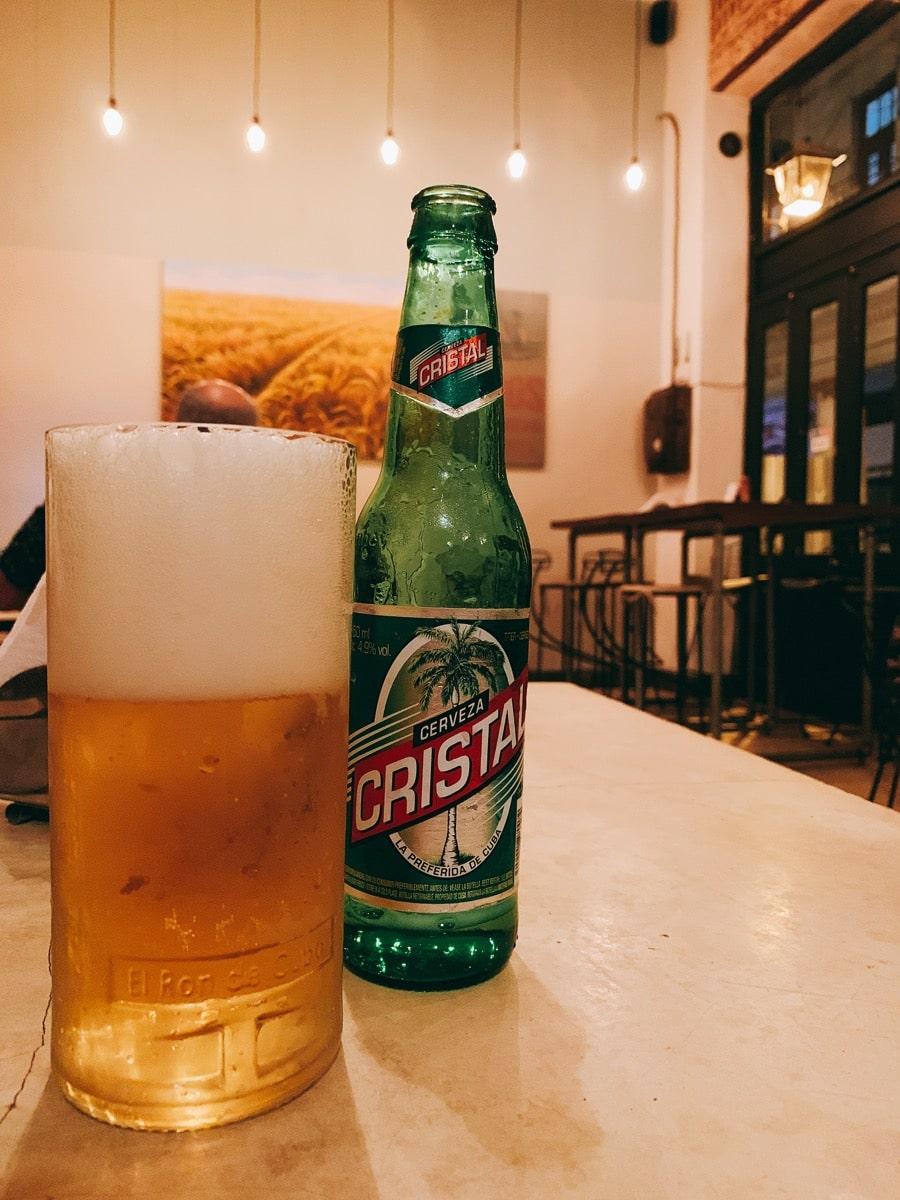 Cuba cocktail 18キューバビール