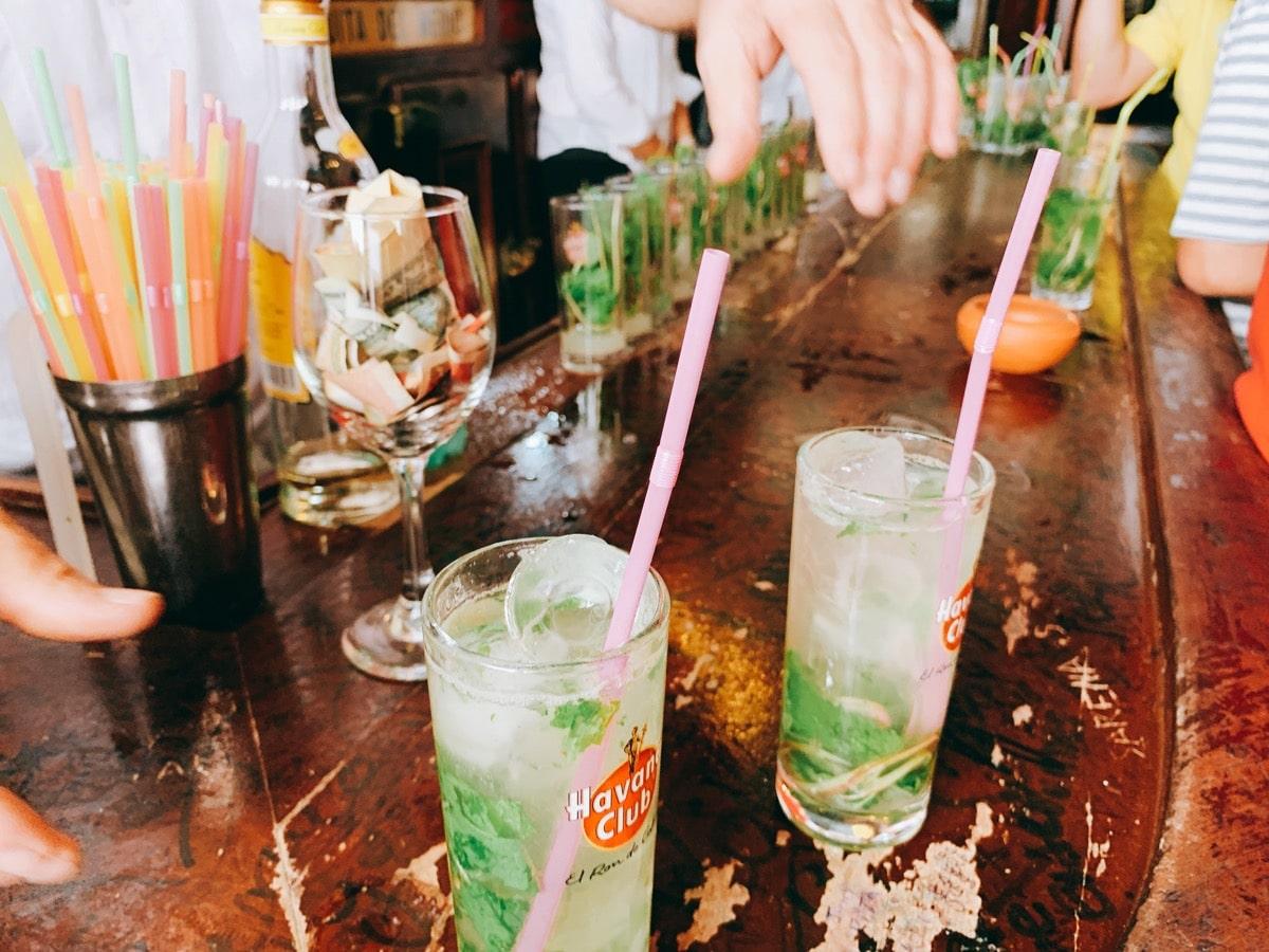 Cuba cocktail 7モヒート