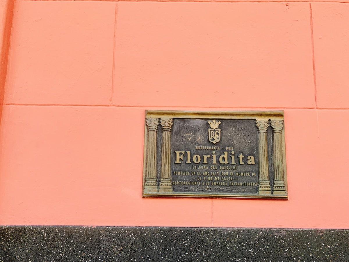 Cuba cocktail 14フロリディータ店名