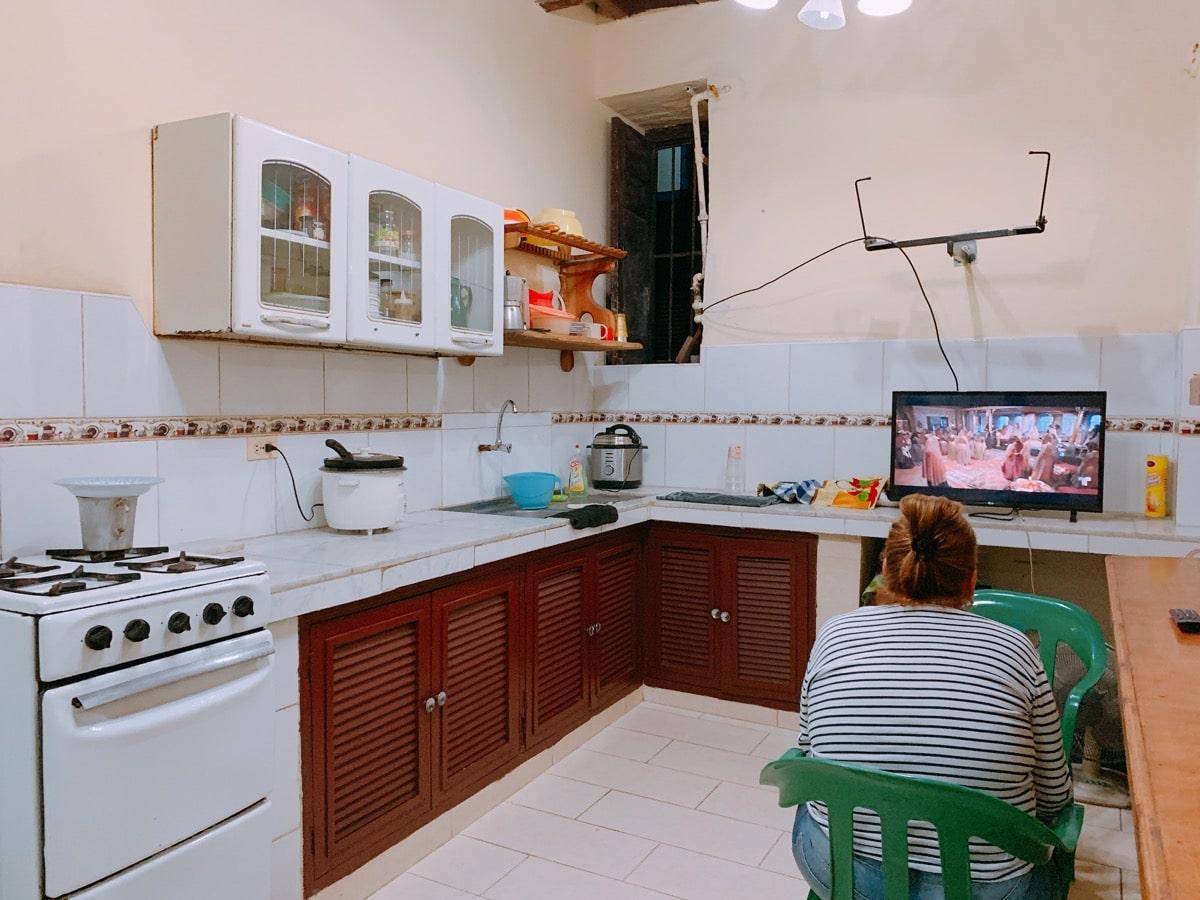 Habana casa 27ホアキナキッチン