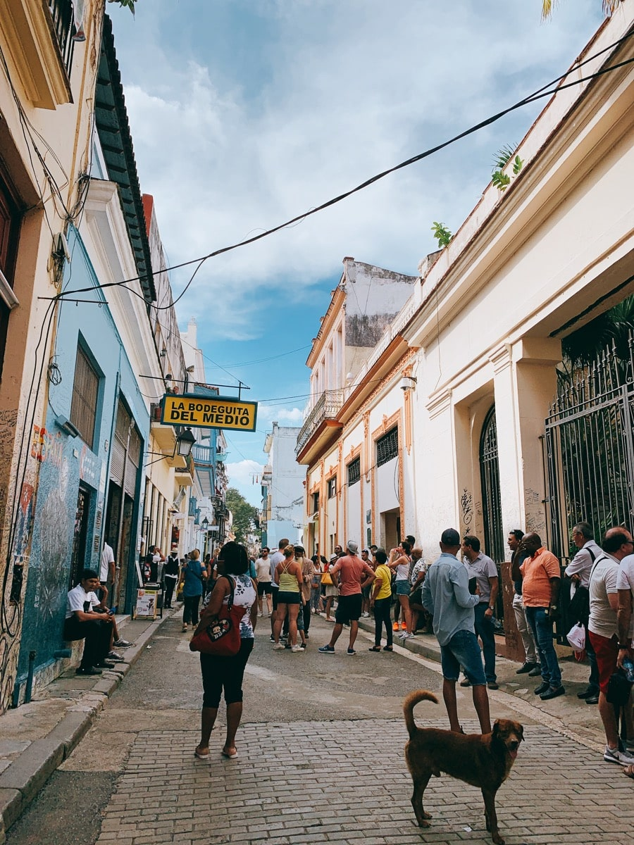 Cuba cocktail 6旧市街