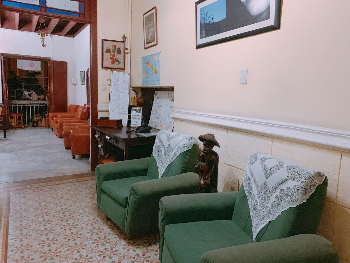Habana casa 24ホアキナ廊下
