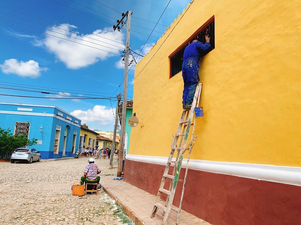 Trinidad 38壁塗り職人