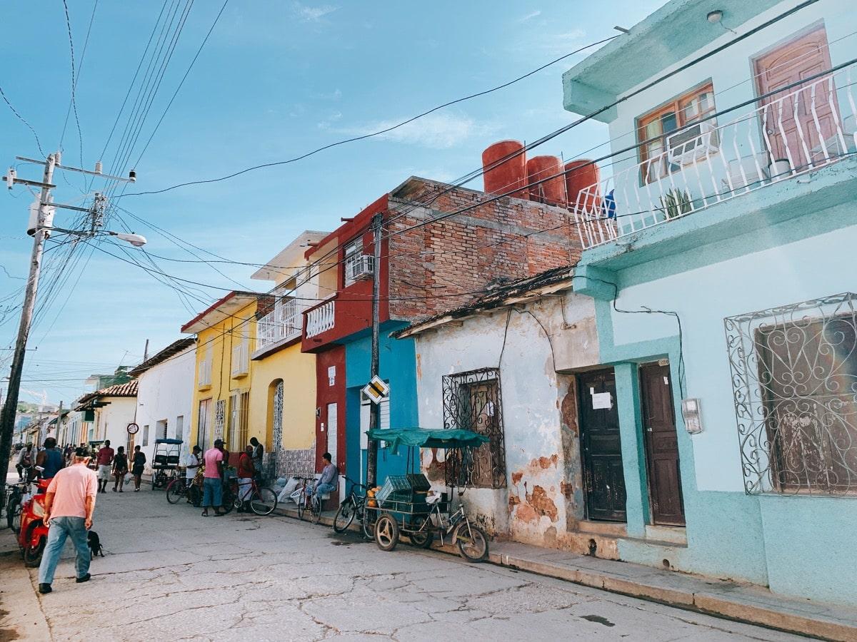 Trinidad 34パステルな通り