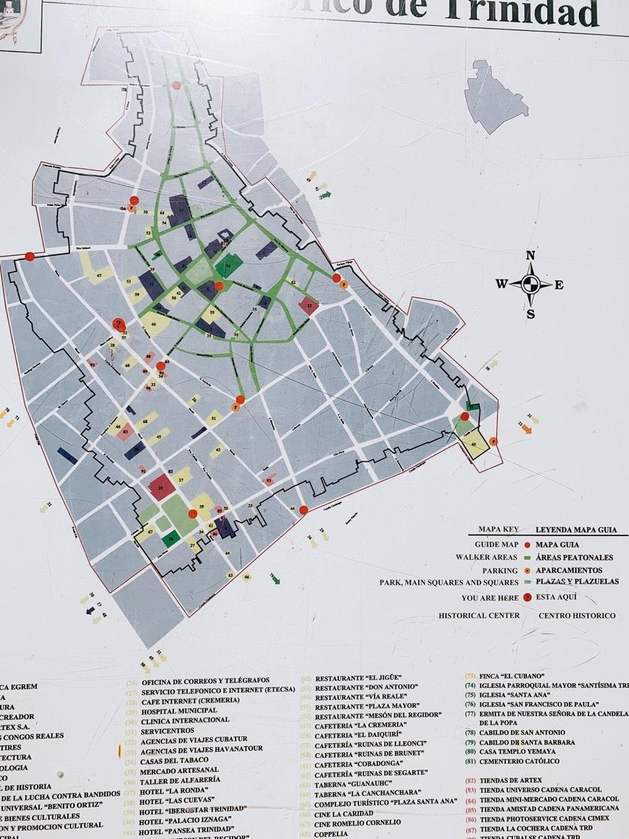 Trinidad 60街地図