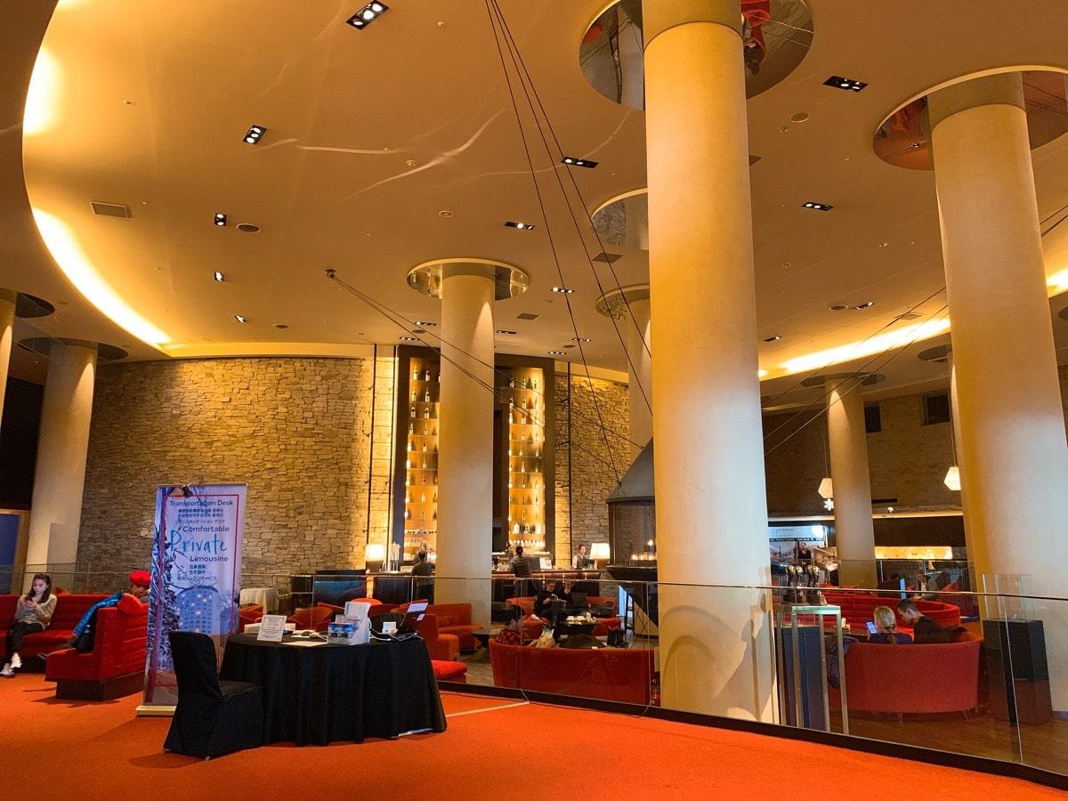Hilton niseko 4ヒルトンラウンジ