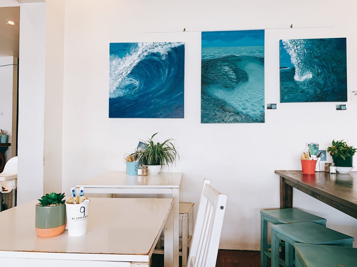 Airbnb longstay 11カフェ