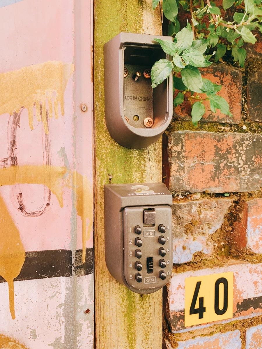 Airbnb howto 3キーパッド