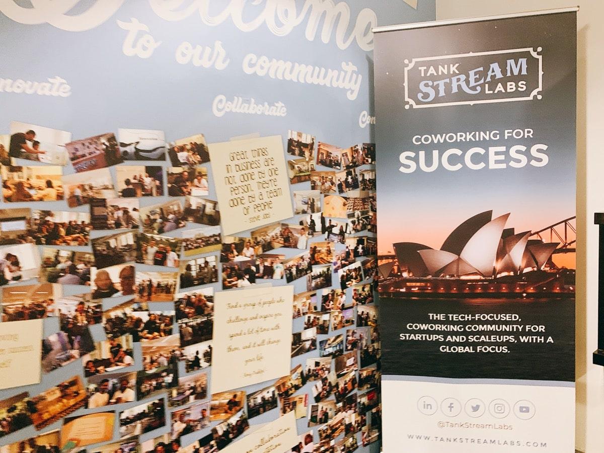 Australia startup 6タンクストリームラボ入り口