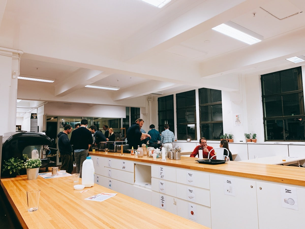 Australia startup 16タンクストリームラボキッチン