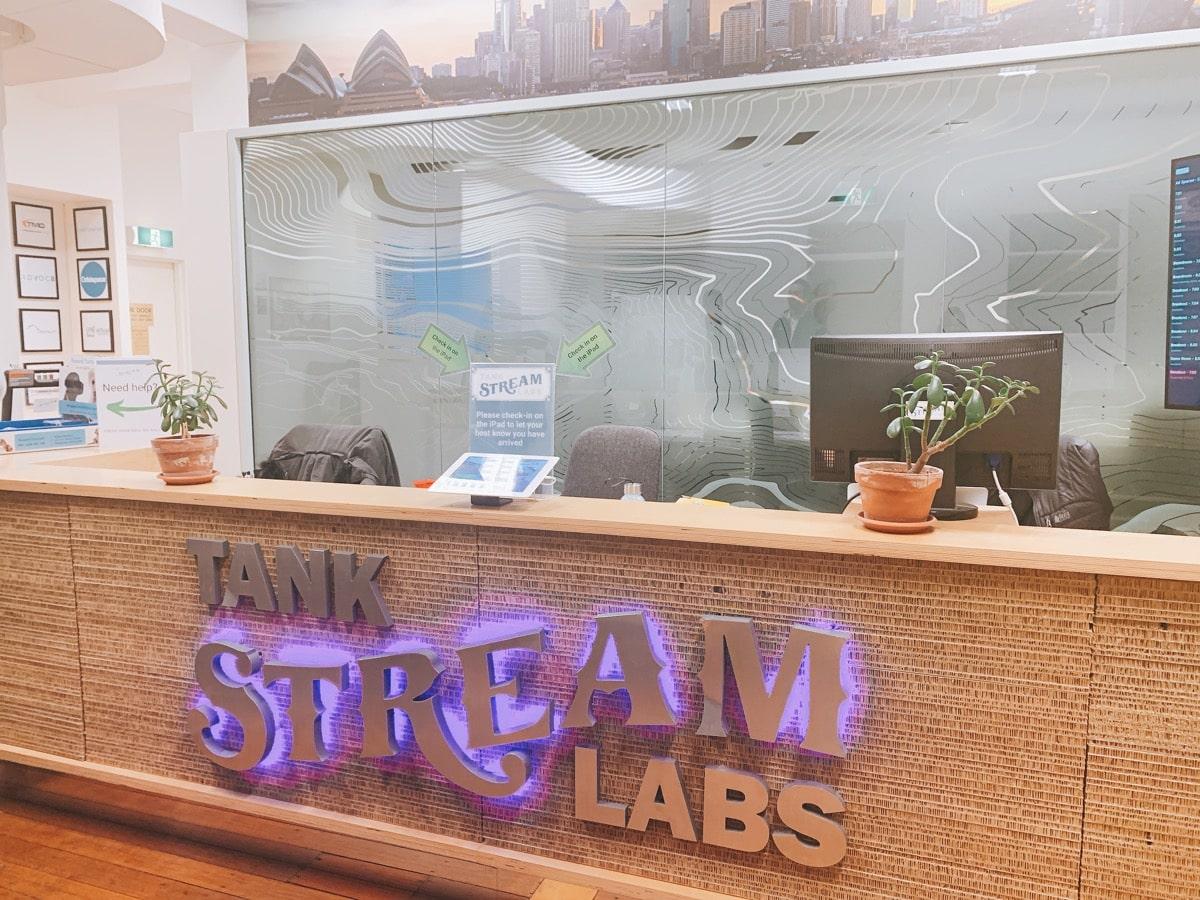 Australia startup 12タンクストリームラボ受付
