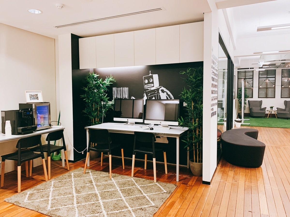 Australia startup 7タンクストリームラボ執務スペース