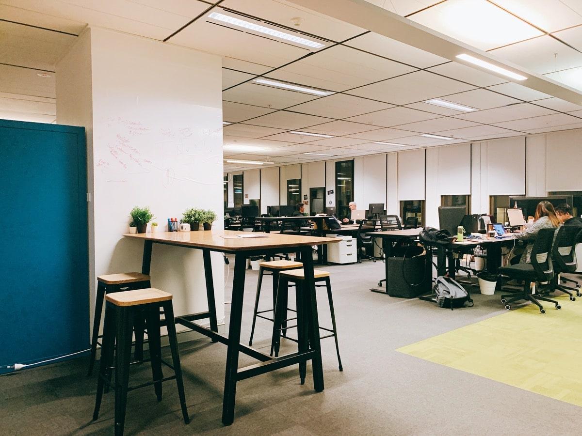 Australia startup 10タンクストリームラボ執務スペース