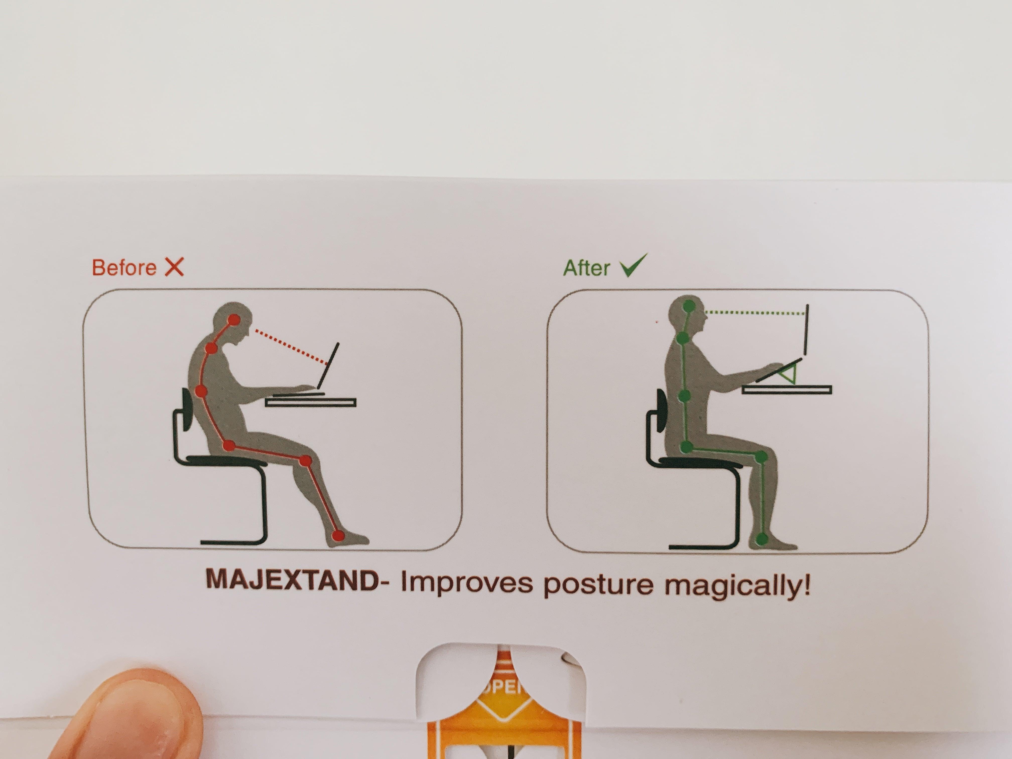 Majextand 22姿勢