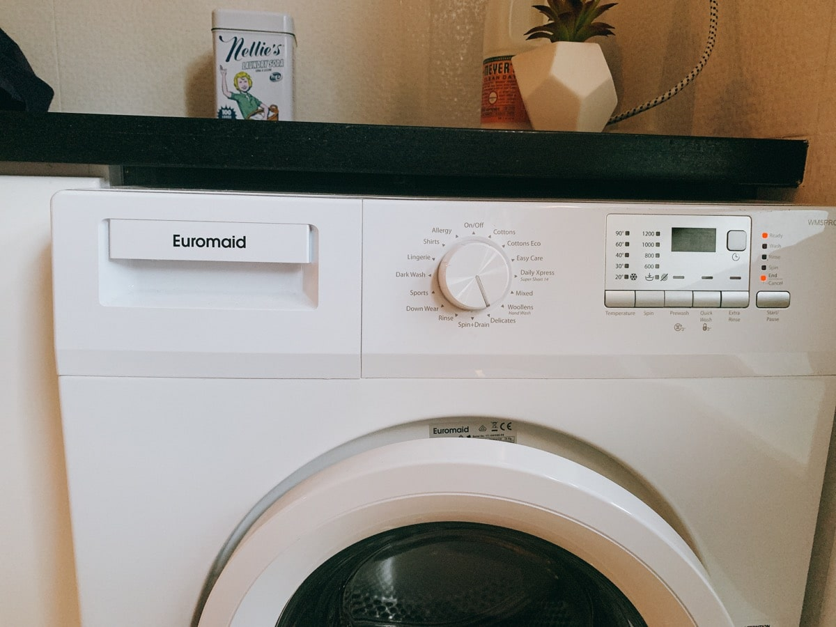 Laundry soda 19洗濯機