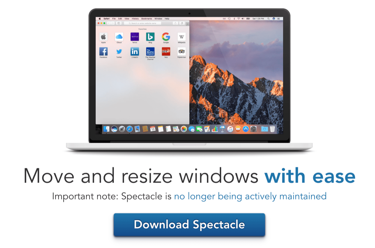 Mac apps 17Spectacle使い方