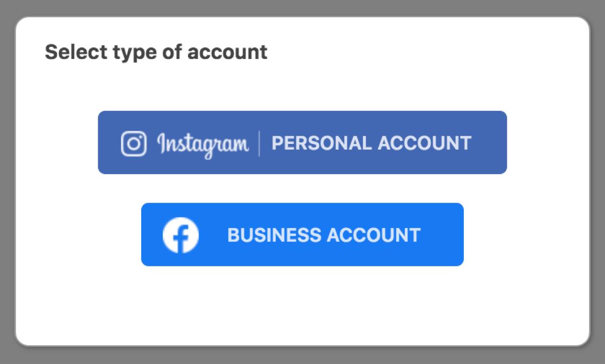 Instagram slider 2アカウント連携