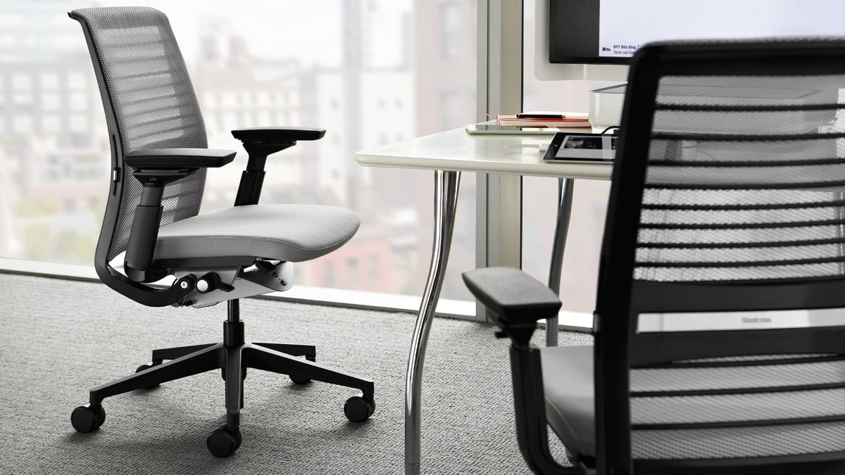 Officechair used 7スチールケースシンクチェア