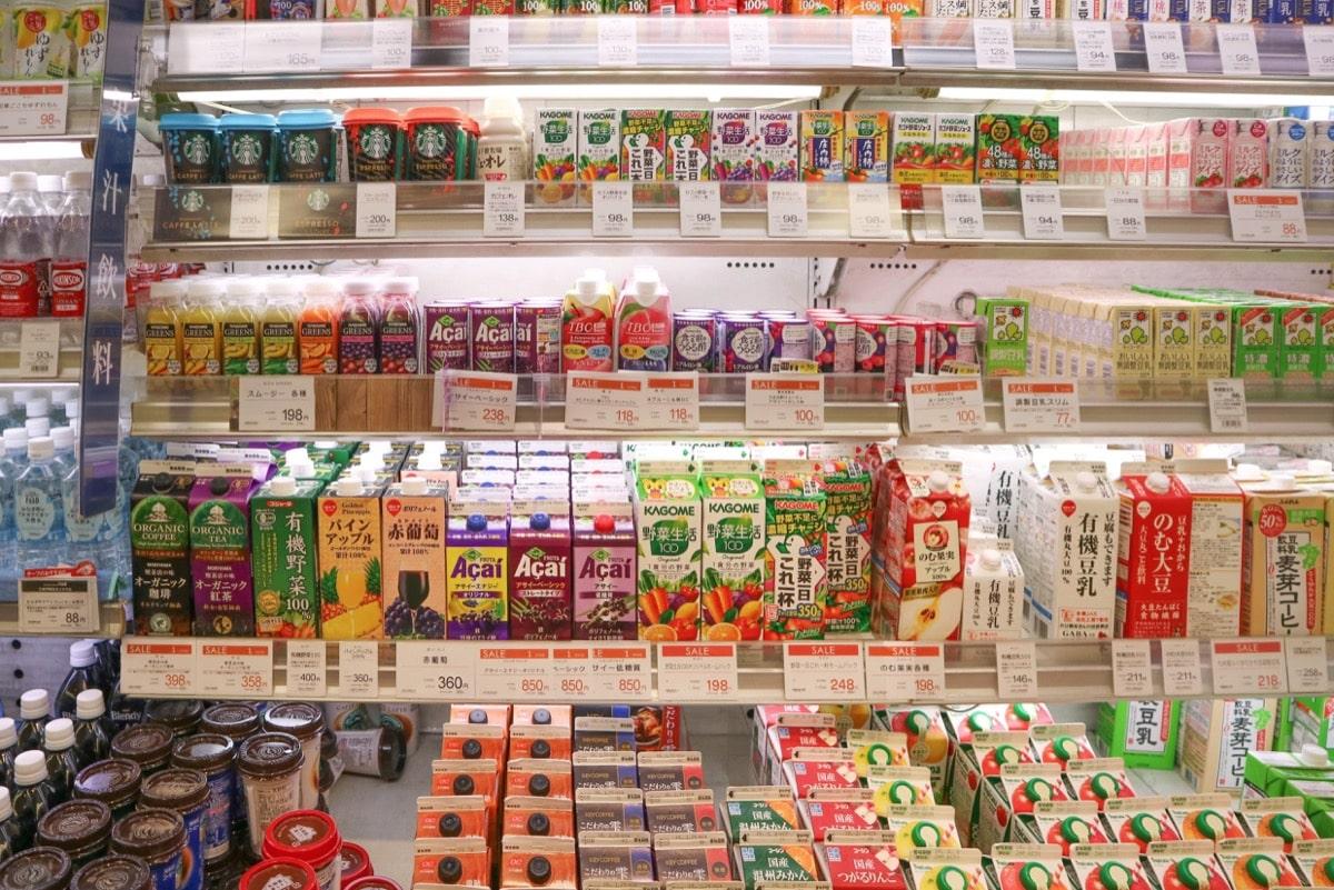 Milk egg longlife 4日本のスーパー