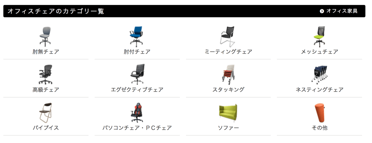 Officechair used 2チェア